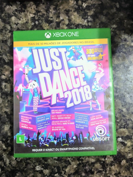 Just Dance 2018 Xbox One Mídia Física