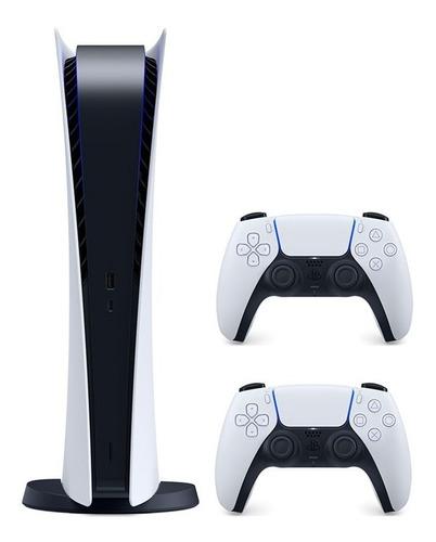Consola Playstation 5 Edicion Disco Ps5 Dos Controles. Nueva