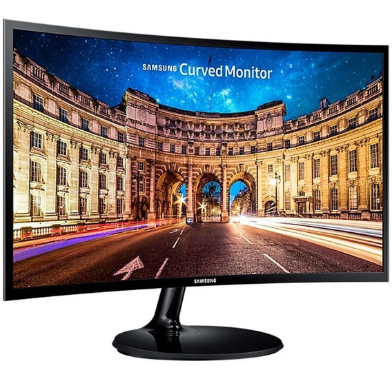Monitor Gamer Curvo Samsung Lc24f390fhlxzx Led 24 Hdmi Vga
