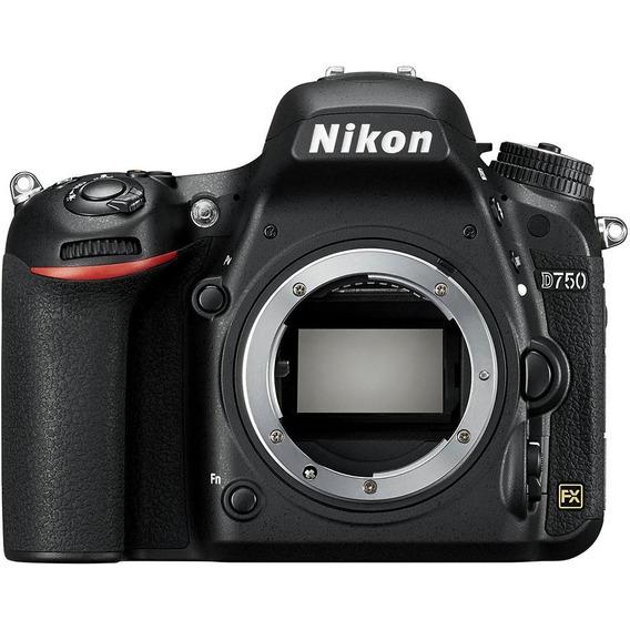 Câmera Nikon D750 Corpo Nova Com 1 Ano De Garantia + Nfe