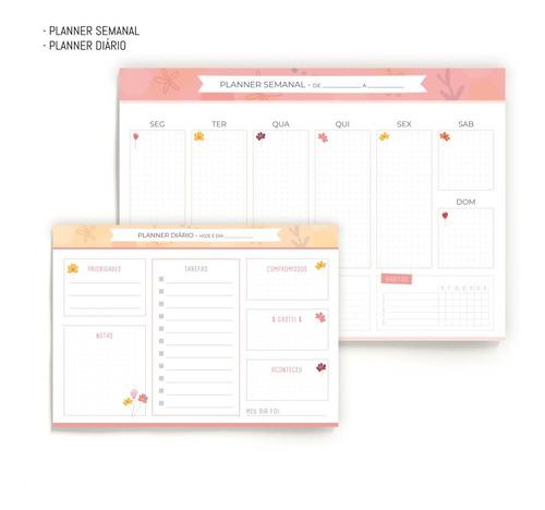 Kit Planners - Diário E Semanal