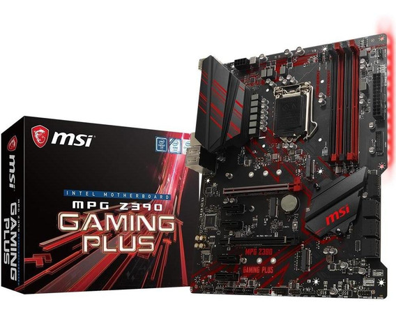 Placa Mãe Msi Z390 Mpg Gaming Plus Intel Lga 1151 Atx Ddr4