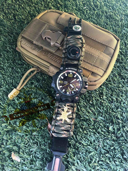 Reloj Paracord/militar/escuela Médico/ Heróico Colegio