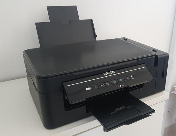 Epson L395 - Impressoras Multifuncional Ecotank Com Wifi