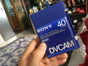 Fita Sony Dvcam -40, Mini Dv Profissional