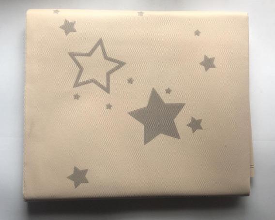 Mantel De Friselina - Con Estrellas