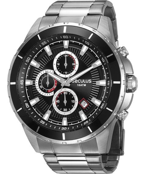 Relógio Masculino Seculus Original Com Garantia Nota Fiscal