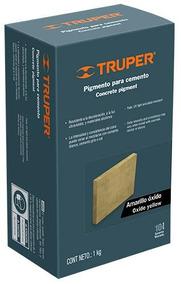 Pigmento Para Cemento 1 Kg Amarillo Óxido Truper 18073