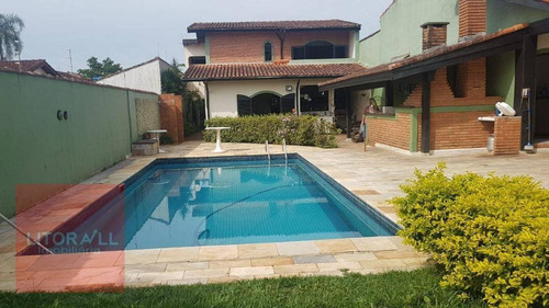 Imagem 1 de 30 de Sobrado Com 4 Dormitórios À Venda, 278 M² Por R$ 996.000 - Cibratel I - Itanhaém/sp - So0291