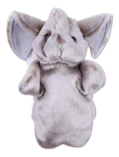 Títeres De Peluche Lindo Marioneta Elefante