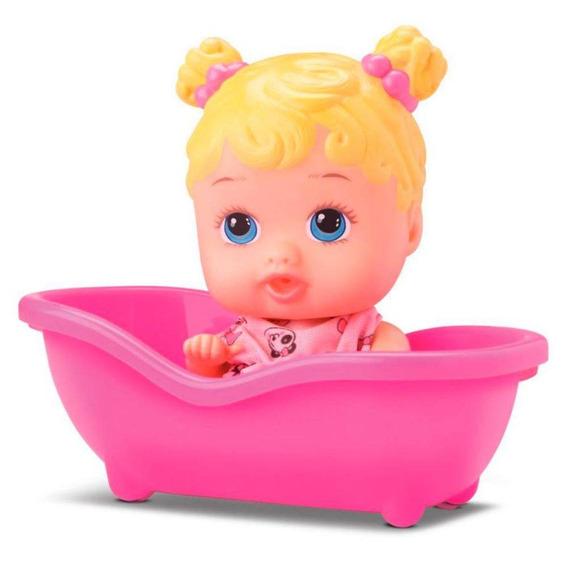 Boneca Little Dolls Banheirinha Loira Diver Toys