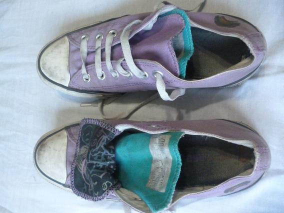 Zapatillas Converse Lilas Talle 39