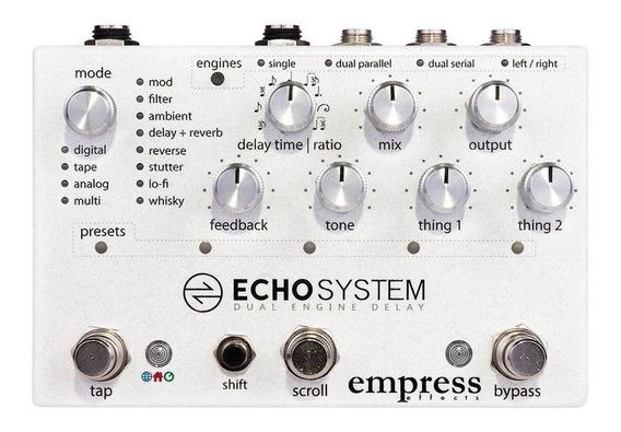 Pedal De Efeitos Echosystem Empress Delay Original Novo