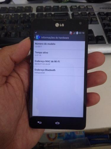 Placa Celular LG E977 Ligando Normal, Touch Quebrado