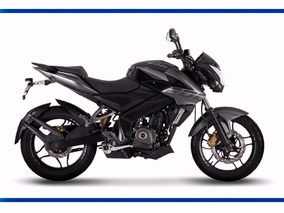 Bajaj Rouser Ns 200 Moto Negra Cycles Motoshop Mejor Precio