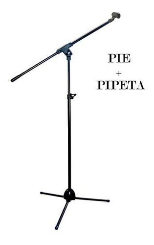 Pie De Microfono Jirafa Liviano Soporte Plegable Pro Stands
