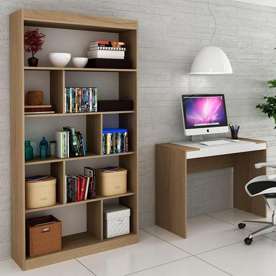 Escrivaninha E Estante Para Escritório-ho-2953-hecol