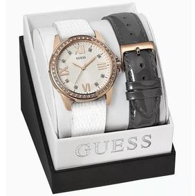 Relógio Guess Feminino Kit 2 Pulseiras