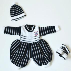 Macacão De Bebê Do Corinthians