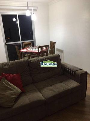 Apartamento Com 2 Dormitórios À Venda, 58 M² Por R$ 290.000 - Vila Milton - Guarulhos/sp - Ap2526