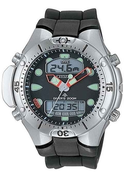 Relógio Citizen Masculino Aqualand Ii Jp1060-01e / Tz10020j