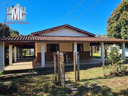 Imagem 1 de 30 de Ótima Chácara Com 2 Dormitórios, Córrego Nos Fundos, Pomar, Acesso Asfaltado,  À Venda, 2000 M² Por R$ 280.000 - Rural - Socorro/sp - Ch1005