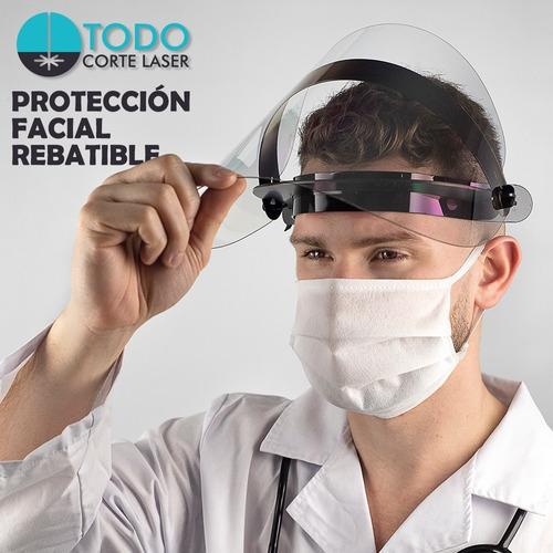 Máscara Protector Facial Modelo Élite Rebatible Policarbonat