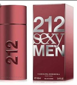 Perfume Perfumes 212 Sexy Men Carolina Herrera Caballeros