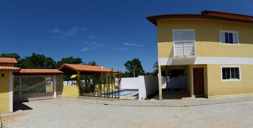 Imagem 1 de 13 de Sobrado Em Condomínio Fechado Em V. Grande Paulista Cod:673