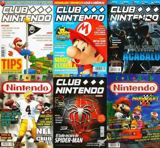 25 Revistas De Videojuegos Club Nintendo, Egm, Psmax Y Más