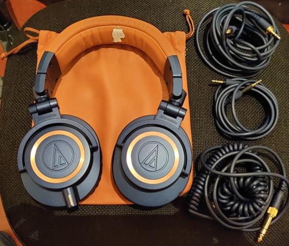 Fone Audio Technica Ath M50x Edição Limitada