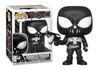 Funko Pop Marvel Venom Venomized Punisher 595 Nuevo Vdgmrs