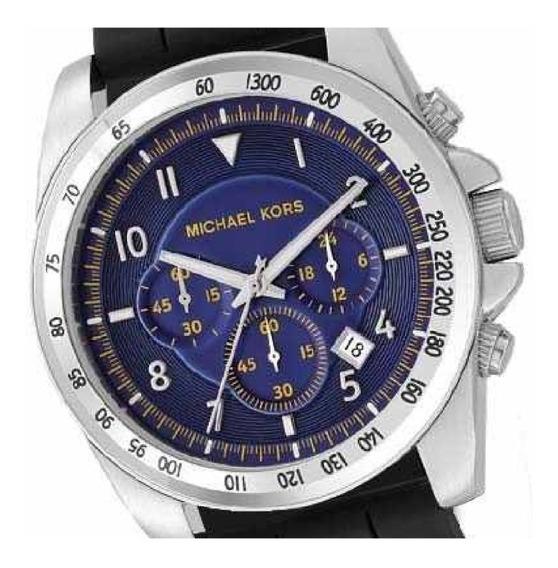 Relógio Michael Kors Mk8133 Quartz Blue Dial