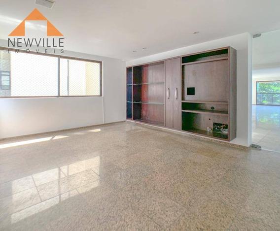 Apartamento Com 4 Quartos Para Alugar, 400 M² Por R$ 13.000/mês Com Taxas -av. Boa Viagem - Recife/pe - Ap1711
