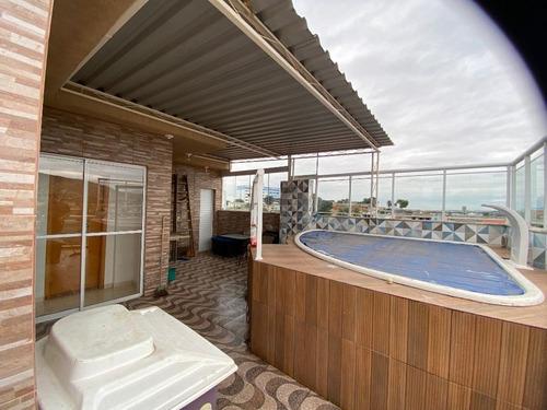 Imagem 1 de 30 de Cobertura Com 2 Dormitórios À Venda, 116 M² Por R$ 550.000,00 - Imperador - Nova Iguaçu/rj - Co0010
