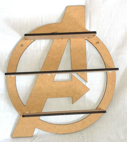 Prateleira Vingadores - Super Herois - Marvel