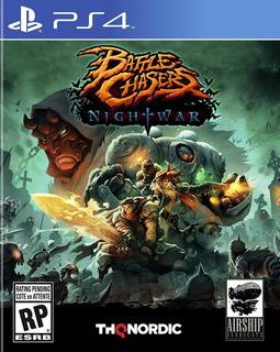 Videojuego Battle Chasers Nightwar Para Playstation 4