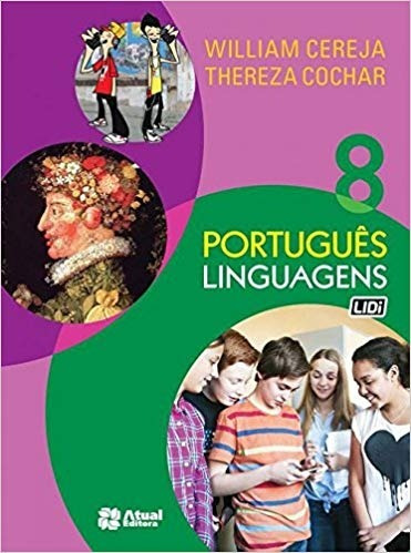 Imagem 1 de 1 de Livro Português Linguagens 8 - William Cereja - Seminovo
