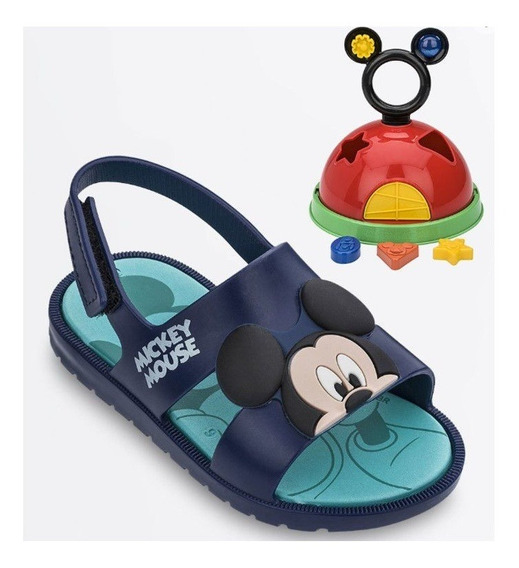 Sandália Disney Mickey - Com Brinde - Grendene Kids