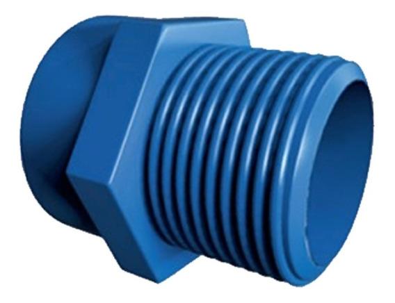 Adaptador Tubo Cpvc 4a Macho 1/2 Pulg Azul 1013 Flowguard