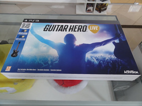 Guitar Hero Live Ps3 Novo Lacrado
