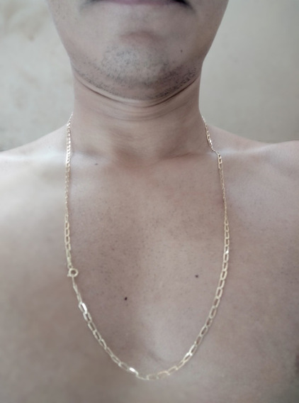 Corrente Cordão Ouro 18k 65cm Masculino 4gramas