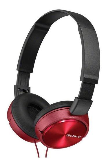 Fone de ouvido Sony MDR-ZX310AP red