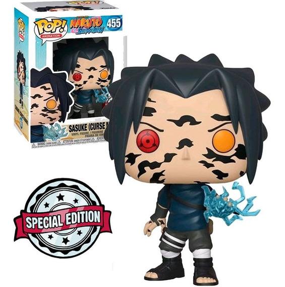 Boneco Funko Pop Naruto Shippuden Exclusive - Sasuke 455