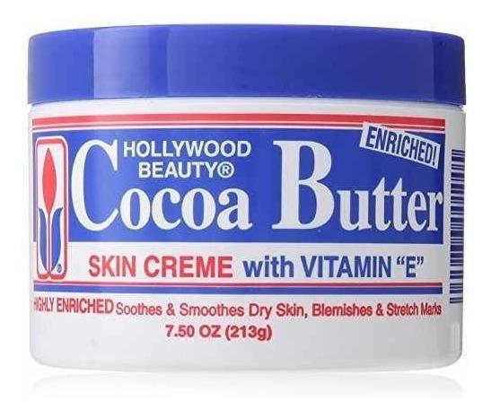 Hollywood Beauty Cream, Manteca De Cacao, 7.5 Onzas