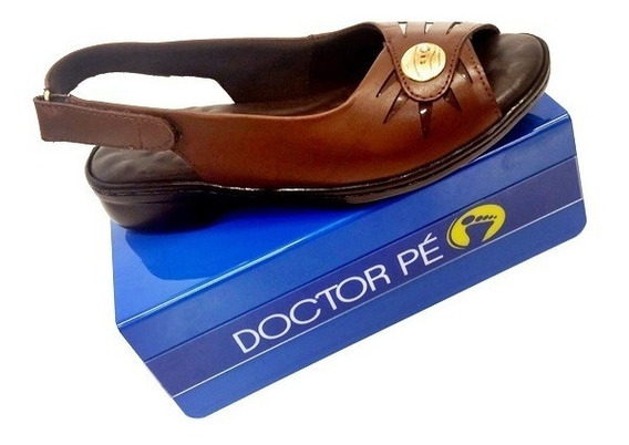 Sandália Feminina Para Diabéticas 11033 Doctor Pé