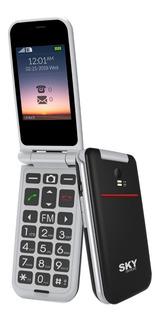 Celular Libre Barato Con Tapa Sky Pocket Cámara Sos Fm Gtia