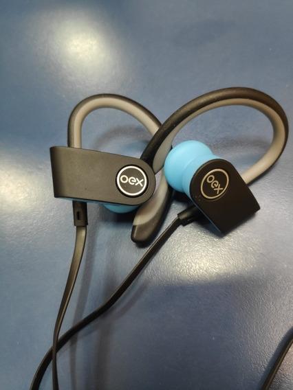 Fone De Ouvido Bluetooth Move Oex Hs303 Azul/preto