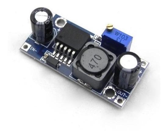 Módulo Regulador De Tensão Step Down Lm2596 2a Arduino