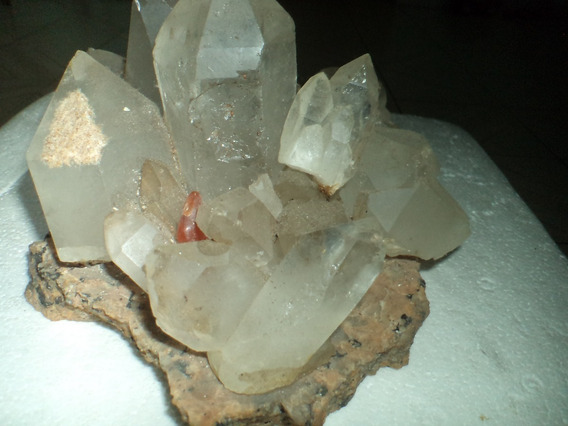 Arranjo Varias Pedras Cristal Quartzo Transparente Natural